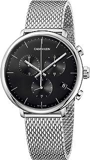 Calvin Klein Unisex Adult Chronograph Quartz Watch with Stainless Steel Strap K8M27121
