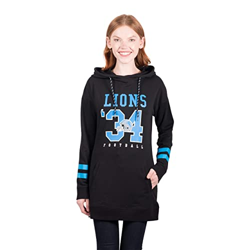 2d862ede5e2 Icer Brands NFL Women s Tunic Hoodie Pullover Sweatshirt Terry