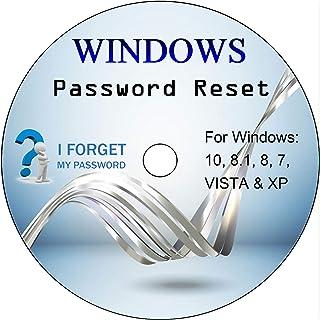 ✅ Disk Disco de restablecimiento de contraseña de Windows. Eliminación de su contraseña de Windows olvidada en Windows 10, 8, 7, Vista, XP