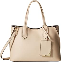Jacky Micro Pebble Leather Tote