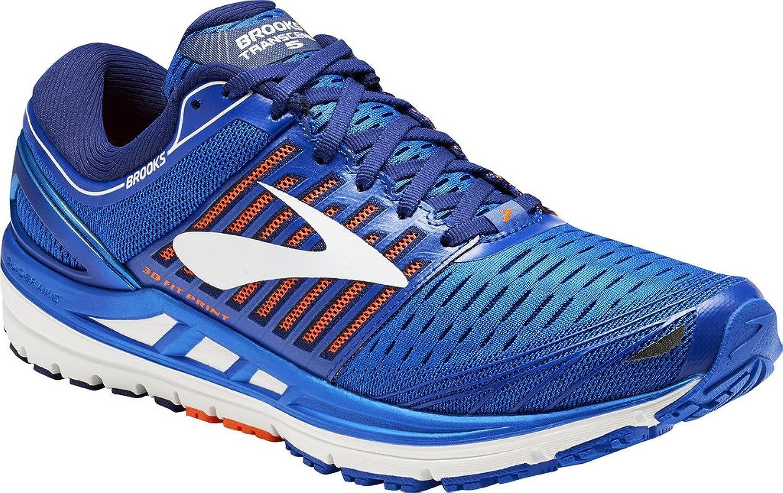 Brooks Herren Transcend 5 Laufschuhe, Blau (Blau Orange Weiß Weiß 1d463), 40 EU  billige Verkaufsstelle online