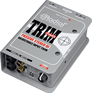 Radial Trim-Two 2-Channel Passive a V Direct Box