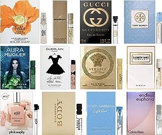 Designer Fragrance Samples Pour Femme - Sampler Lot x 12 Perfume Vials For Her (1.3)