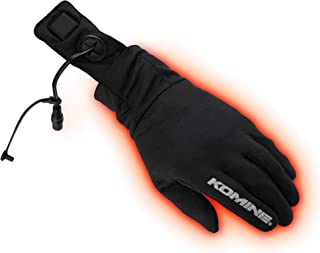 コミネ KOMINE バイク 電熱 ヒートインナーグローブ 手袋 電熱 発熱 防寒 XL Heat Inner Gloves 12V 08-204