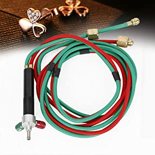 DONNGYZ Jewelry Jewelers Micro Mini Gas Little Torch Welding Soldering Kit with 5 Weld tips for Practical Gas Oxygen Cylinders, Hoses - Acetylene for Jewelers Repairing