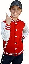Y.S. organize School Sport Sweatshirt Baseball Jacket for Kids