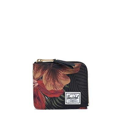 Herschel Supply Co. Jack RFID (Tropical Hibiscus) Wallet Handbags