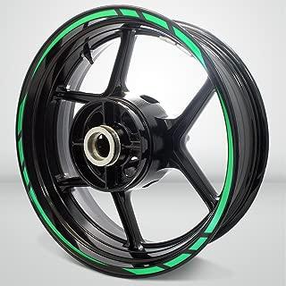 Rapid Outer Rim Liner Stripe for Suzuki SV650 Reflective Green