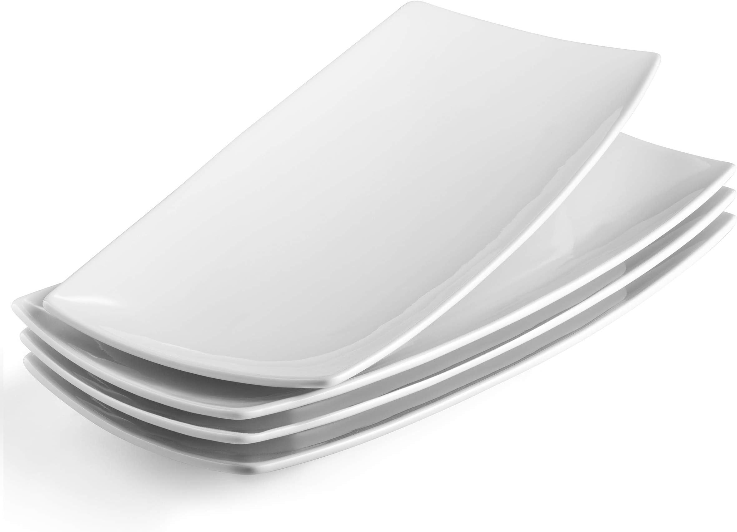 ASA Selection Grande Cake Plate Platter Serving Plate Ceramic White Ø 22.5 cm