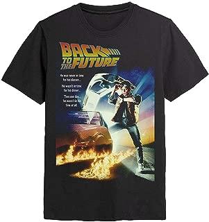 Back to The Future - Póster de película - Camiseta Oficial para Hombre