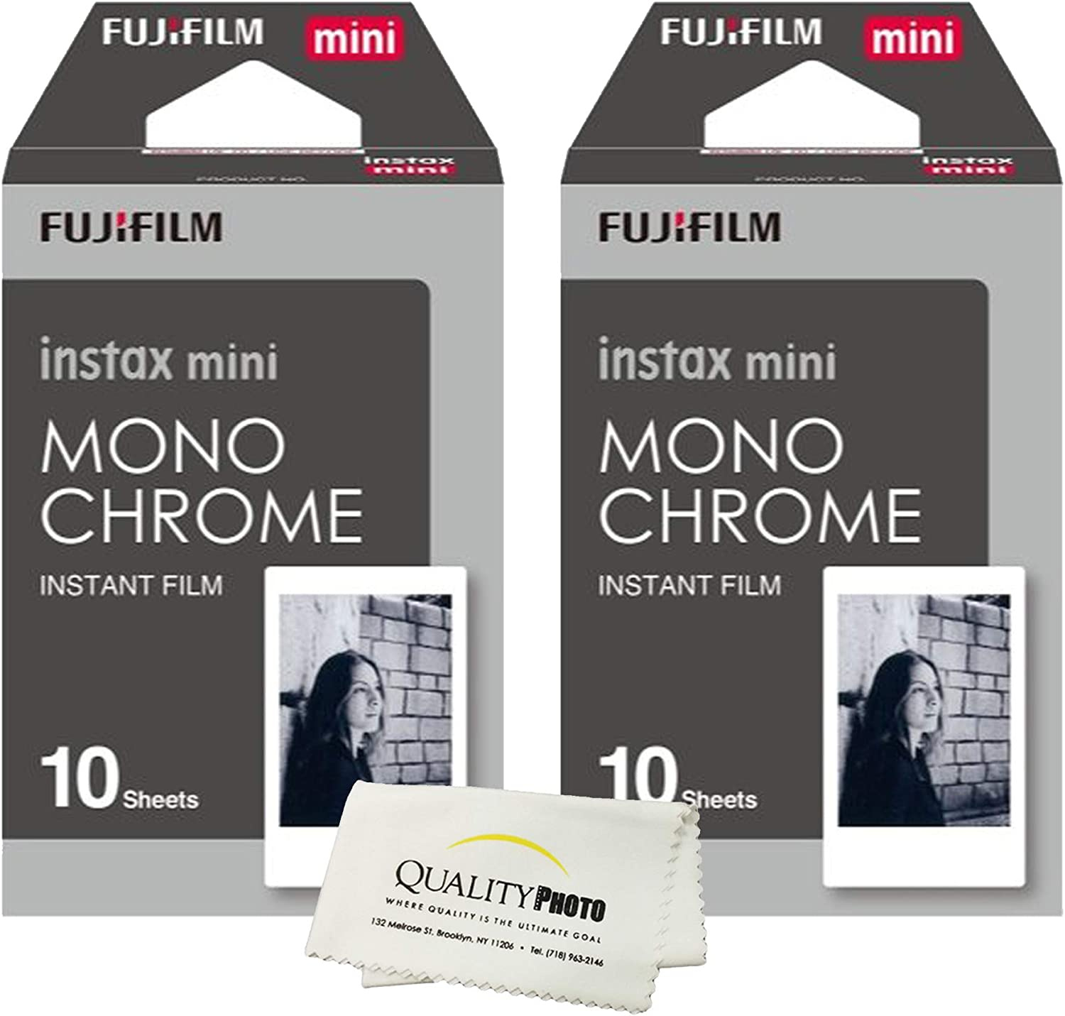 Fujifilm Instax Mini Ranking TOP12 8 Instant Film 20 Value Sheets 2-Pack Set New product!!