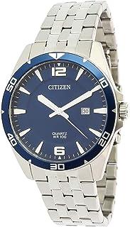 ساعة كوارتر للرجال من ستيزين، بعرض انالوج وسوار من الستانلس ستيل - موديل BI5058-52L