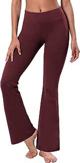 "BUBBLELIME 29""/31""/33""/35"" Inseam Bootcut Yoga Pants High Waist Moisture Wicking Long Bootleg Super Soft"