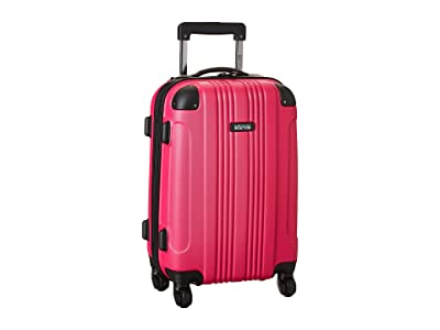 Kenneth Cole Reaction 20 Out of Bounds Lightweight Hardside 4-Wheel Spinner Carry-On Travel Luggage (Magenta) Luggage