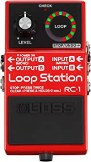 Boss RC-1 Loop Station and Boss PSA-120S2 Power Supply