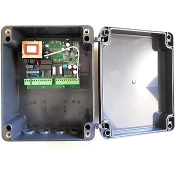 Central cuadro maniobras universal para motores de puertas batientes de 1 o 2 hojas CM2, válido para motores hidráulicos y electromecánicos.: Amazon.es: Bricolaje y herramientas