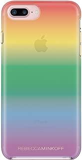 Rebecca Minkoff Double Up Case for iPhone 8 Plus & iPhone 7 Plus - Rainbow Case Transparent Ombre