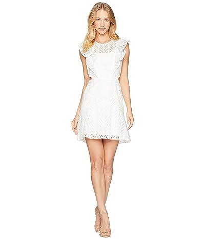 Bardot Kira Frill Dress (Ivory) Women