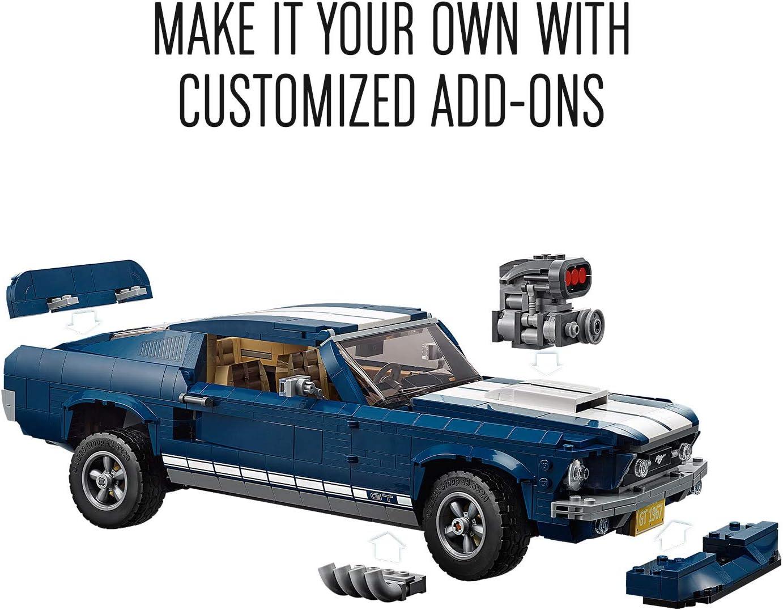 Lego 10220 - Creator Volkswagen T1 Campingbus Ford Mustang 1960