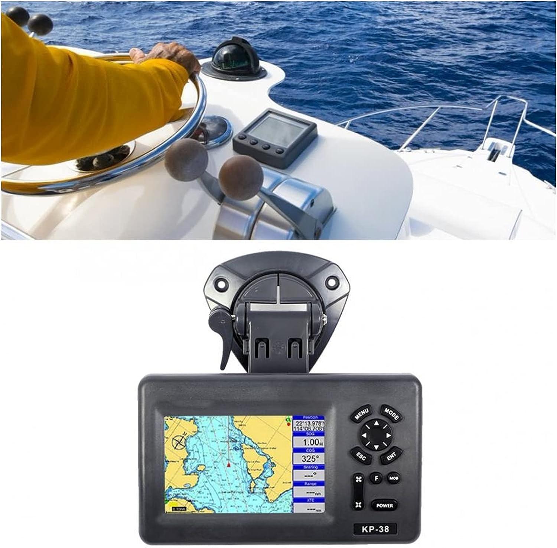 MINGMIN-DZ Marine GPS KP-38 5-inch Marine GPS Plotter Colorful LCD IPX5 Waterproof Marine Chart Plotter Satellite Navigator Boat GPS Navigation Marine GPS Units & chartplotters