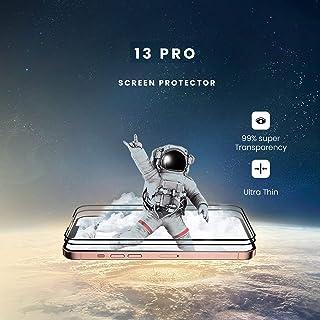 RIVANOO skärmskydd kompatibelt Kompatibel för apple 2 -pack iPhone 13 pro - 9D härdat glas - Toppkvalitet / RIVANOO SCREEN...