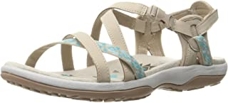 skechers women's reggae slim keep close gladiator sandal