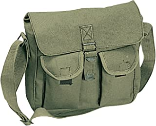 black canvas bag military