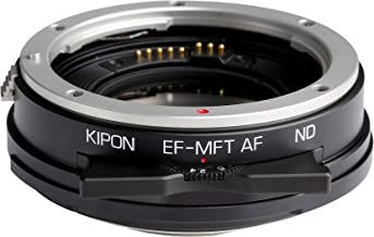 Kipon Autofocus Adapter with ND Filter for Canon EOS Lens to Micro Four Thirds M4/3 Camera