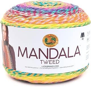 Lion Brand Yarn 524-204 Mandala Tweed, Seven