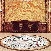 18 stks decor spiegels 17,3 * 11,8 in decoratieve spiegel, acryl spiegel stickers, frameloze spiegel decoreren woonkamer v...