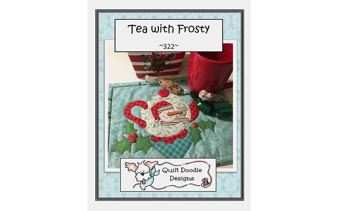 Quilt Doodle Designs QD-322 Tea with Frosty Mug Rug Pattern