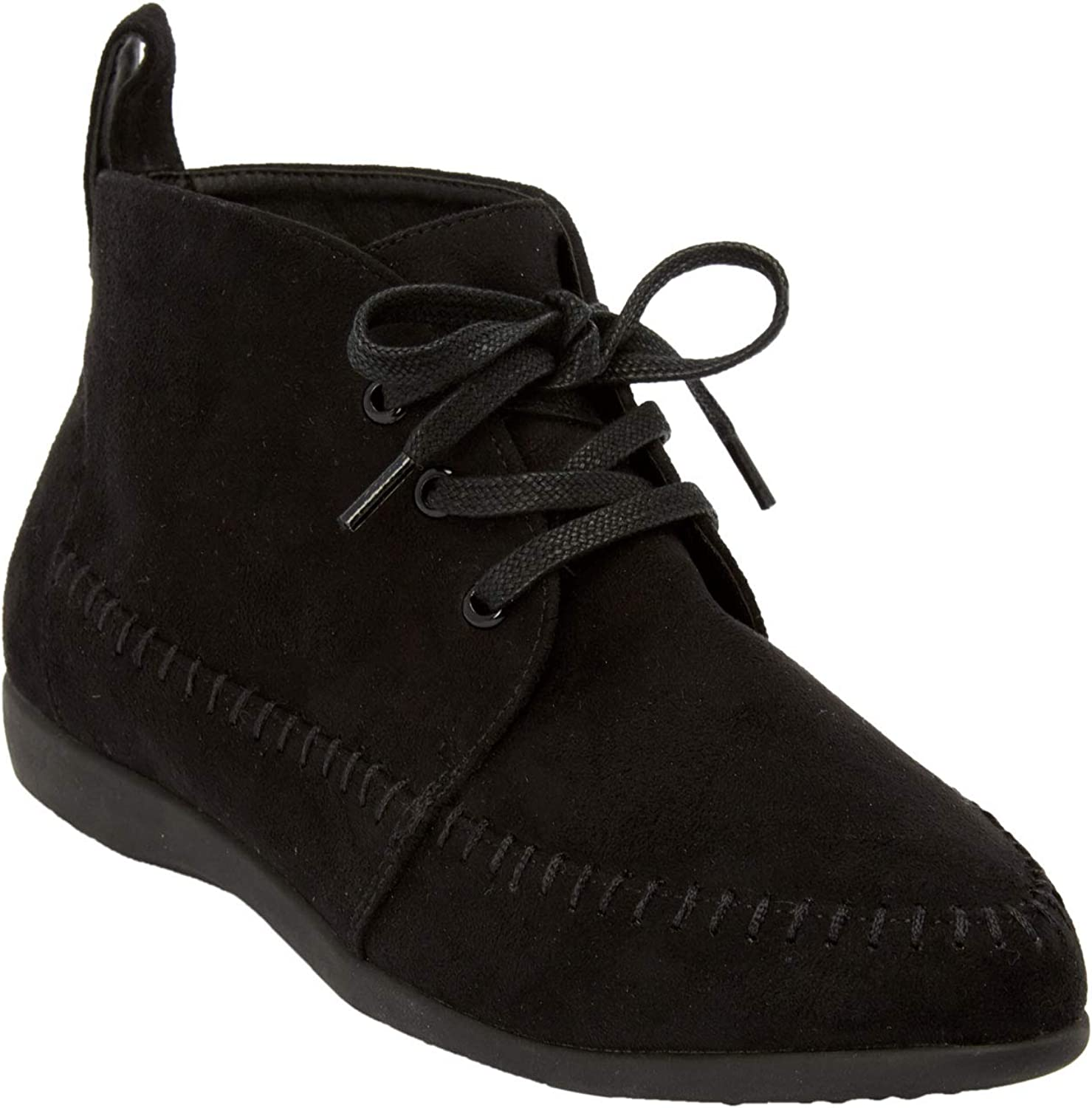 Comfortview Women's Wide Width The Elsa Lace Bootie Boo Max 84% OFF Long-awaited Ankle Up