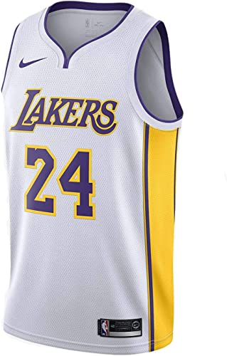 Amazon.com : Nike Men's Lakers Kobe Bryant Swingman Jersey Top ...