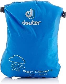 DEUTER Rain Cover II - Waterproof Rain Cover for Backpacks 30L to 50L