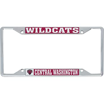 Mascot Desert Cactus Wellesley College Blue NCAA Metal License Plate Frame for Front or Back of Car Officially Licensed