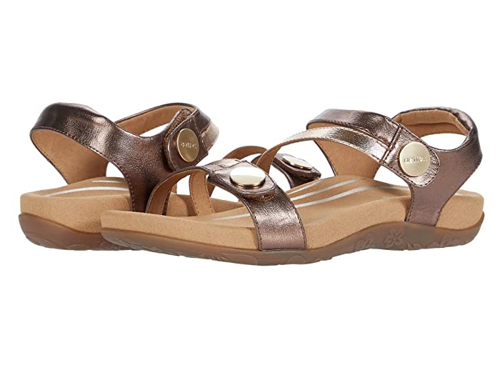 Aetrex  Jess (Bronze) Womens Shoes