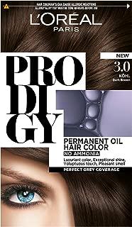 L'Oreal Paris Prodigy Haircolor, 3.0 Dark Brown