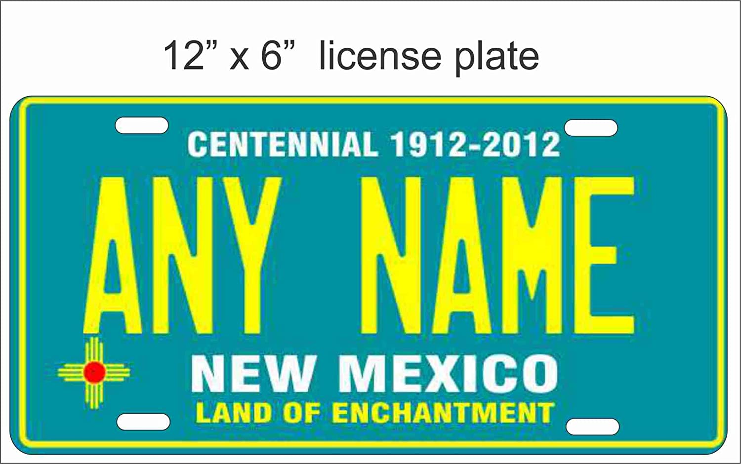 New Mexico Chile Any Name Text Number Novelty Car License Plate