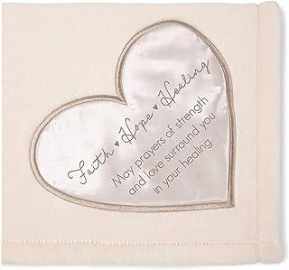 Pavilion Gift Company Faith Hope Plush Throw Blanket