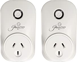 Jinvoo Smart WiFi Plug Power Socket with Timing Function, Remote Control Smart Socket, no hub,2-Pack.Compatible with Amazon Alexa and Google Assistant (UL Listed)