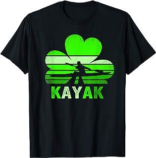 Kayak shamrock Shirt St Patricks day