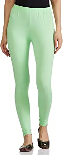 Lux Lyra Women's Leggings Ankle_44_FS_1PC_Pista Green_Free Size