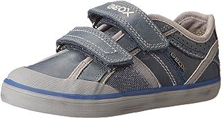 Geox Junior Kiwi Boy 42 Leather Causal Sneaker (Toddler/Little Kid/Big Kid)