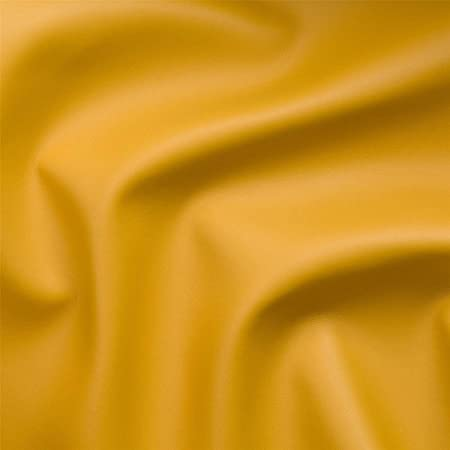 Yellow faux leather