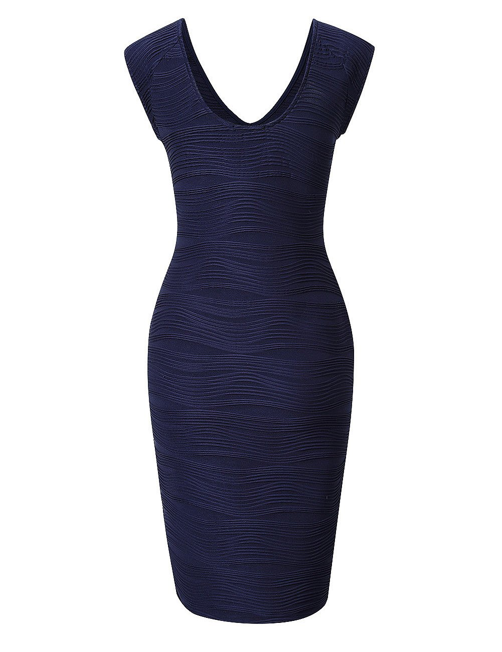 Available at Amazon: HiQueen Women's Sexy Sleeveless V Neck Cocktail Business Bodycon Pencil Dress