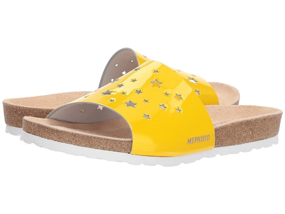 Mephisto Nora Star (Yellow Patent) Women