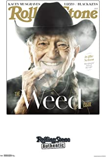 Trends International Rolling Stone - Willie Nelson 19 Wall Poster, 22.375