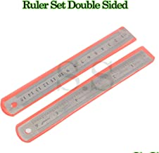 6 inch / 15 cm Stainless Steel Metal Straight Ruler Precision Scale Double Sided OFFER: BUY 2 GET 1 FREE or BUY 3 GET 2 FREE