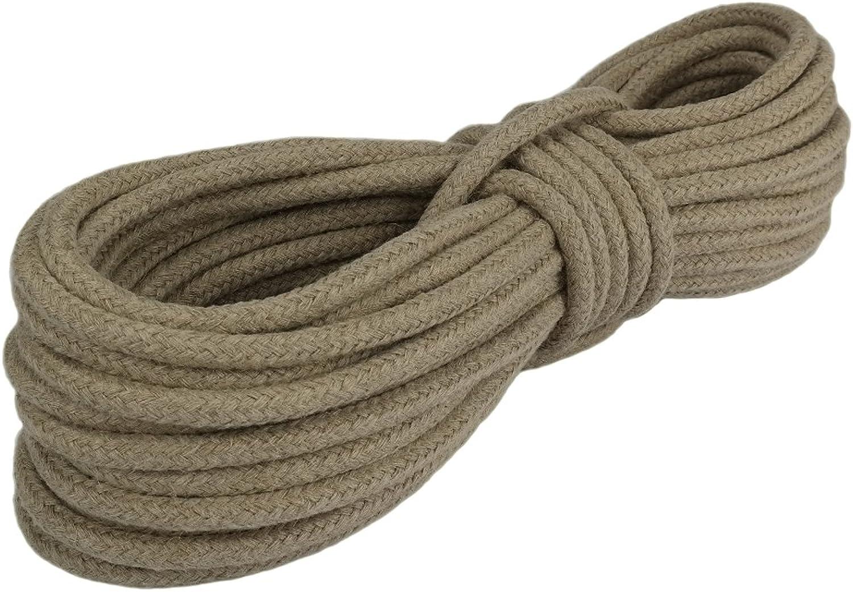 Hanfseil Seil Seil Seil Hanf 10mm 20m 16-fach geflochten B017LVW6GG  Günstiger 648439