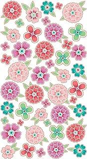 Sticko 469411 Stickers, Flower Tropics